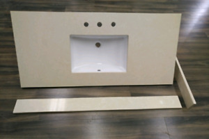 "*Premium Quality Quartz 48"" Vanity countertop! For Sale!"