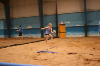 Competitive Indoor Beach Volleyball Tournament