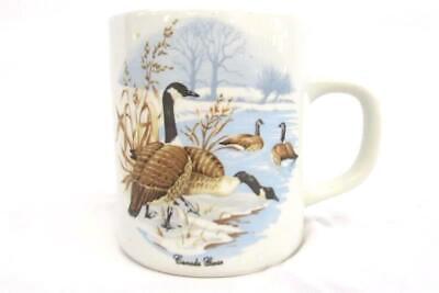Vintage Canada Geese Ceramic Coffee Tea Mug Cup Standard Size