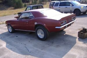 For  Sale 1967 Chevy Camaro
