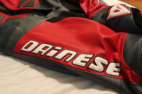 Dainese Carl Fogarty 1pc leather race suit Size 56 Euro (46 US)