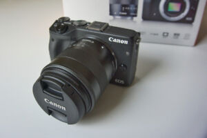Canon EOS M3. Like new!