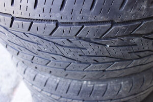235 60 18 Continental tires,