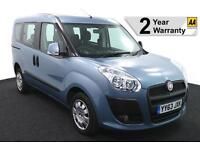 2014(63) FIAT DOBLO 1.4 MYLIFE LOW FLOOR WHEELCHAIR ACCESSIBLE VEHICLE ~ AIRCON