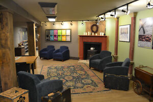 Hip lower level office space - Downtown Kitchener