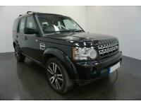 2012 BLACK LAND ROVER DISCOVERY 4 3.0 SDV6 HSE AUTO CAR FINANCE FR £305 PCM
