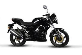 SYM Wolf SB 125cc Sports Naked Motorcycle Learner Legal bike 5 years Warranty