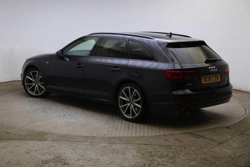 2018 Audi A4 Avant Black Edition 14 Tfsi 150 Ps S Tronic Petrol