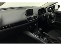 2016 Mazda 3 SE-L NAV Petrol black Manual