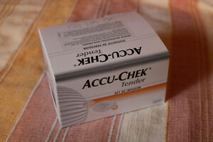 AccuChek Tender infusion set for insulin pump, Multiclix Lancets
