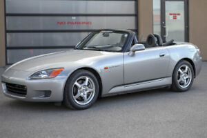 2001 Honda S2000: no accidents/never modified/all stock