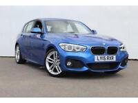 2015 BMW 1 SERIES 120d M Sport 5dr