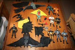 Vintage Batman Figurines and Accessories