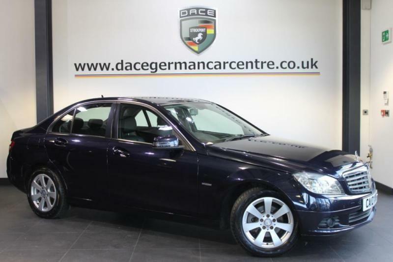 2010 10 mercedes benz c class 2 1 c200 cdi blueefficiency se diesel 4dr diesel in stockport. Black Bedroom Furniture Sets. Home Design Ideas