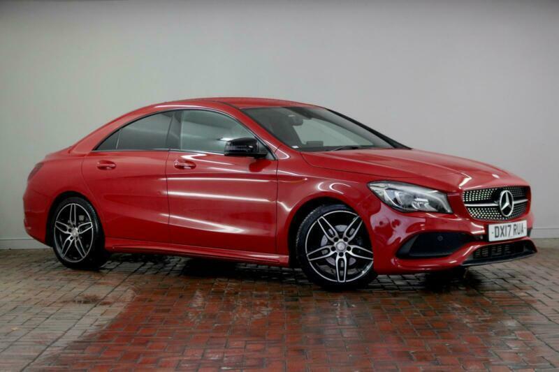2017 Mercedes-Benz CLA CLASS CLA 180 AMG Line 4dr Tip Auto Saloon Petrol Automat