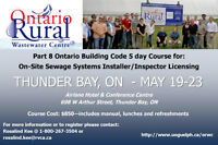 Ontario Building Code - Sewage System Course for Licensing Exam