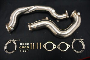 Private Label MFG Power Driven BMW 135i/335i (N54)DOWN PIPES (CA