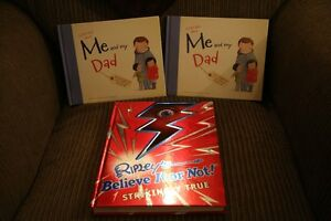 Two Books to fill in and share with your dad