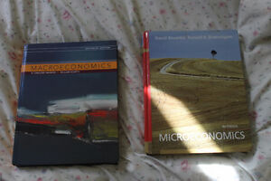 Macro & Micro- economics textbooks