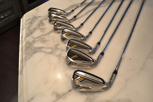 LEFT HAND ROCKETBLADEZ TAYLORMADE IRONS 4-PW