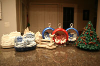 CHRISTMAS - ONE OF A KIND - Ceramic decorations