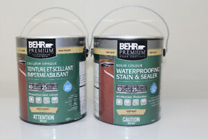 Paint, Behr Solid Stain