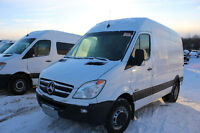 2010 Mercedes-Benz Sprinter cargo van 3500 dully $21999 approved