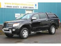 2015 FORD RANGER LIMITED 4X4 DOUBLECAB 3.2 TDCI 200 BHP DIESEL 6 SPEED MANUAL PI