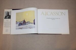 A.J. Casson His Life & Works: A Tribute Hardcover  - 1980 Kitchener / Waterloo Kitchener Area image 3