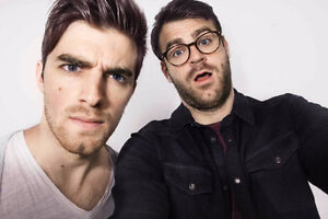 Get closer to THE CHAINSMOKERS - 2nd ROW balcony seats