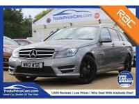 2012 12 MERCEDES-BENZ C CLASS 2.1 C220 CDI BLUEEFFICIENCY SPORT 5D AUTO 168 BHP