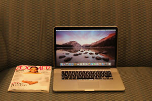 """MacBook Pro Retina 15""""/ Mid 2012 / 8 GB / 256 SSD / Core i7"""