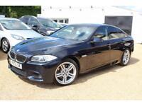 2013 13 BMW 5 SERIES 3.0 530D M SPORT 4D AUTO 255 BHP DIESEL