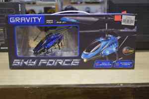 **NEW IN BOX** Gravity Sky Force Helicopter RC Drone