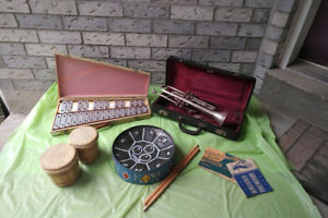 Trumpet,  Bongo Drum  Steel Drum* SEE EACH PRICE*