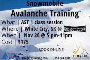 SNOWMOBILE AVALANCHE TRAINING
