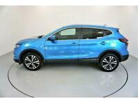 2017 BLUE NISSAN QASHQAI 1.5 DCI N-CONNECTA DIESEL HATCH CAR FINANCE FR £201 PCM