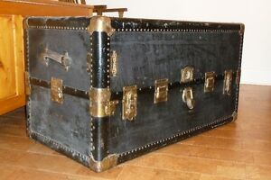 Antique Steamer Trunk - Hartmann