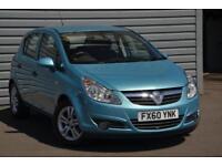 2010 Vauxhall Corsa 1.2 Energy Petrol blue Manual