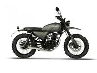 HANWAY HS125 SCRAMBLER LEARNER LEGAL RIDE ON CBT NOW WITH 2 YEARS 0% FINANCE
