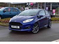 2017 FORD FIESTA Ford Fiesta 1.0 EcoBoost ST Line Navigation 3dr [Privacy Glass]