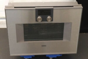 "Neuf Four Combines Micro-ondes 24"" Gaggenau Valeur 8300$"