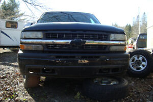 2001 chev extracab longbox silverado for parts