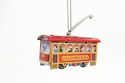 + Blechspielzeug  MINIATUR  STRASSENBAHN  °° Tin Toy Tramway °°