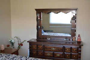 Solid Pine Dresser and Chest Of Drawers