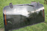 JEEP - windshield for a hard top with wiper