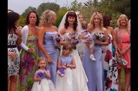Kelsey Rose sparkle Bridesmaid Dresses rrp £225 each