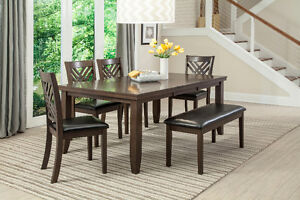 DINING TABLE SET FROM $499, WE HAVE SOFAS, BED ROOM SETS AND MOR