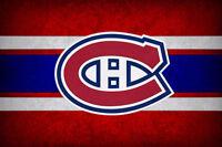 4 BILLETS ENSEMBLE - CANUCKS @ CANADIENS * PAS CHER * CHEAP