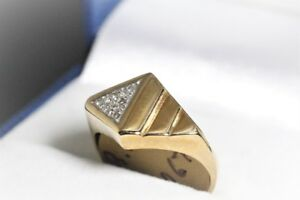 BRAND NEW SOLID 10K. GOLD & DIAMOND RING FOR SALE.
